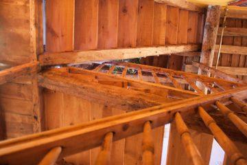 Casa rural madera arevalo