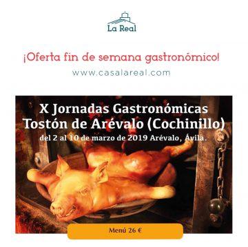 Jornadas gastronómicas de Arévalo 2019